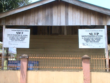 Gedung SLTP & SMU Ponpes Al-Husna